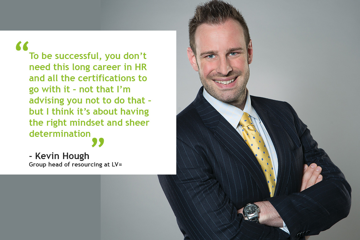 Career profile: Kevin Hough, group head of resourcing, LV